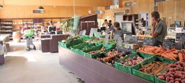 Treize fermes court-circuitent un supermarché