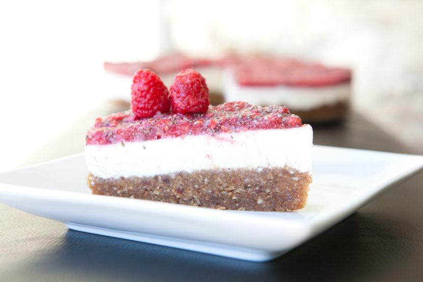 Cheesecake léger framboise – ricotta